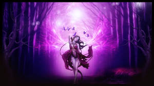 The purple forest by annemaria48