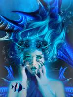 The Bleu Mermaid by annemaria48