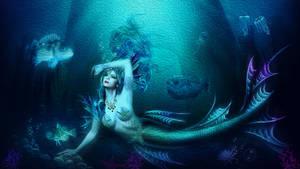 The darkness mermaid