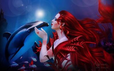 Mermaid Fae 2 by annemaria48