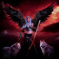Wolf by annemaria48