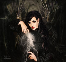 The magical creature  witch by annemaria48