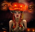 Halloween girl 2 by annemaria48