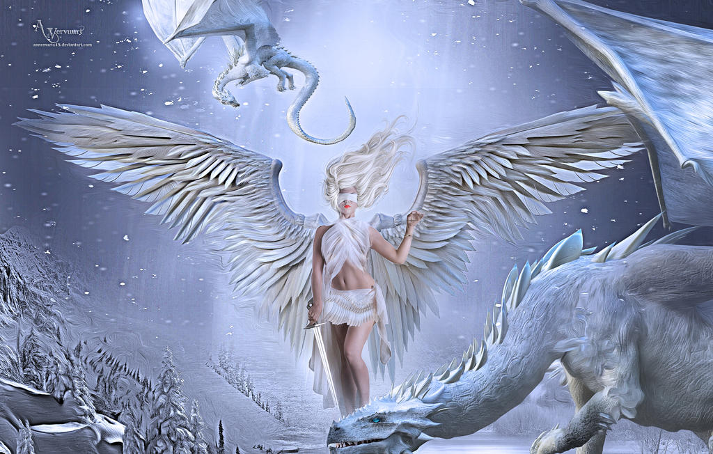The blind angel