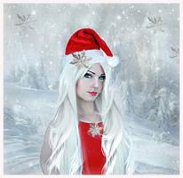 Christmas girl by annemaria48