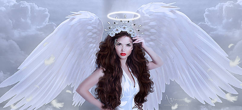 White mask angel
