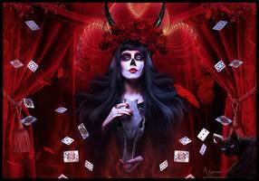 Alice in Wonderland by annemaria48