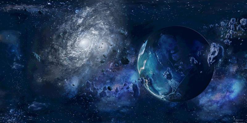 The bleu cosmos