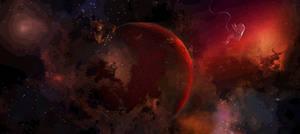 Blood planet