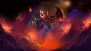 The fire queen of the world