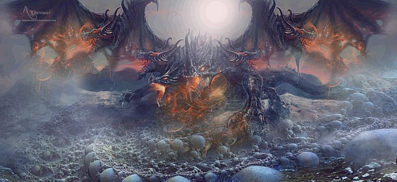 World of warcraft dragon