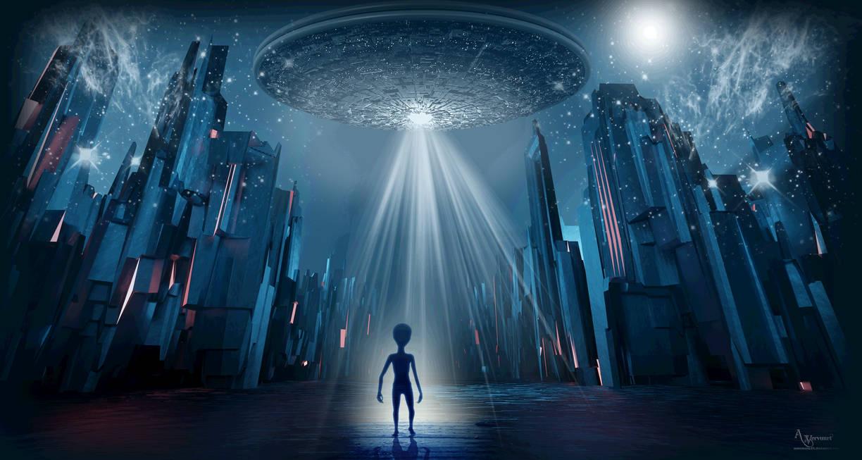 Alien in Town
