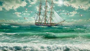 Beautiful ship