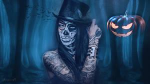 Halloween chick