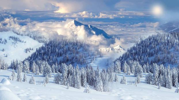 The most beautiful  winter vieuw