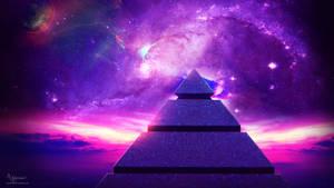 Purple view pyramid