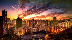 City lights 2021 Singapore