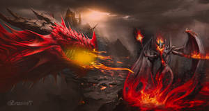 Fire Lord and Fire dragon