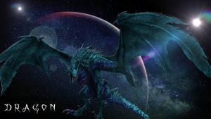 Dragon bleu moon
