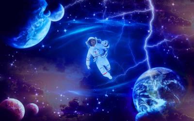 Astronaut video at my instragram and lifestream