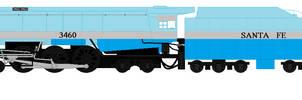 Axle the Santa Fe Blue Goose