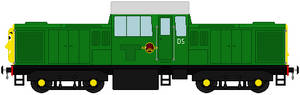 Derek the BR Class 17 (my headcannon)