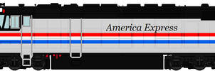 America Express SDP40F