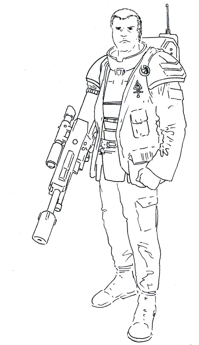 Arch-Militant Malakai Tubreau by Drhoz