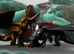 HTTYD 2 edit: Crash and Peregrine