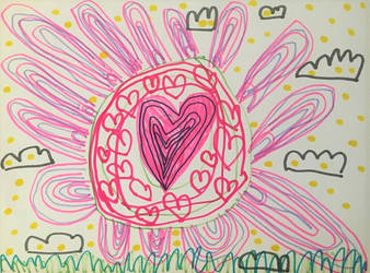 The Big Heart flower