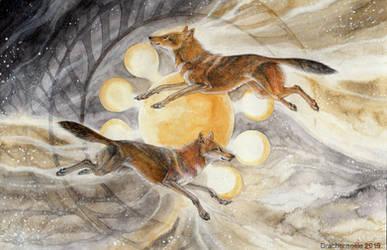 Tanz der Goldschakale by Drachenseele