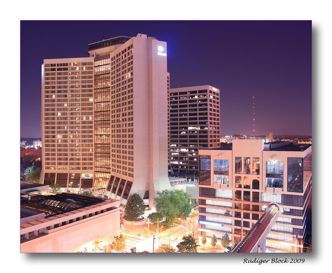 Hilton downtown atlanta by rued on deviantart