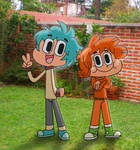 The Amazing Human World of Gumball