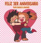 Aniversario No 3 LoulouVZ x Felipe Choque