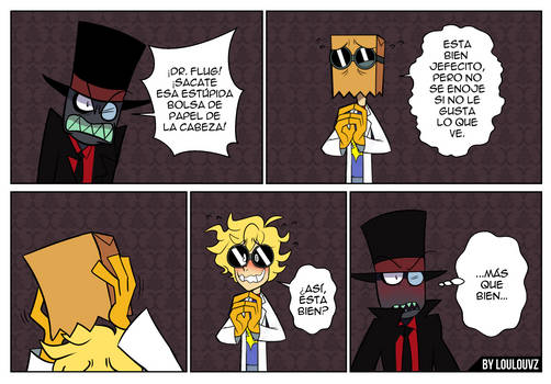 Dr. Flug sin mascara
