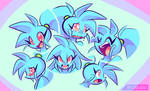 Spaicy faces