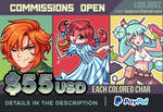 COMMISSIONS OPEN - 2018