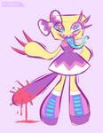 pastel lolita robot gal