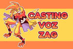 Casting voz Zag
