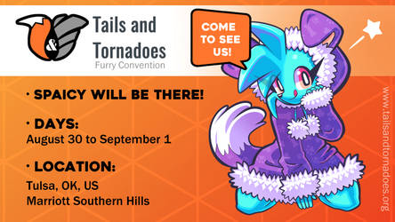Spaicy on Tails and tornadoes Convention