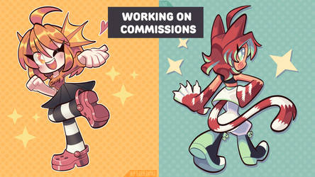 Streaming NOW! - Working on Commissions