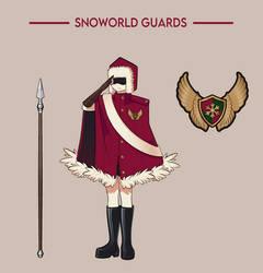 New design of Snoworld guards