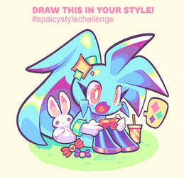 Draw this in your style! #SpaicyStyleChallenge