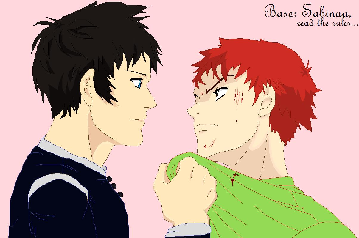 Fight base- brothers by DominoTheClumsy on DeviantArt