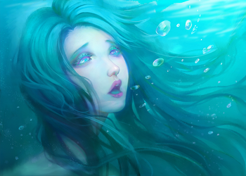 Drowning by Hika-Vns
