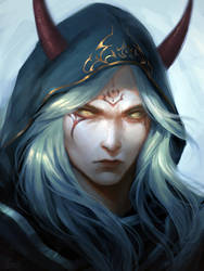 Random demon by AkihHika