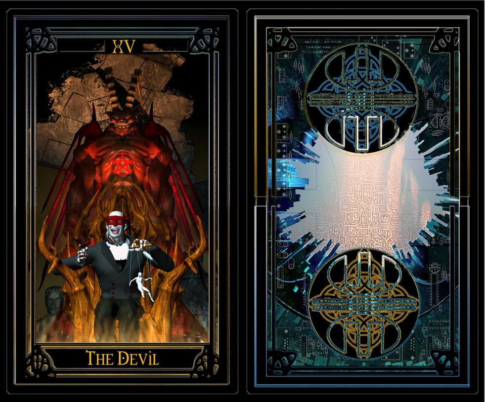 Wintermute Tarot: Devil XV By W1NT3RMUT3 On DeviantArt