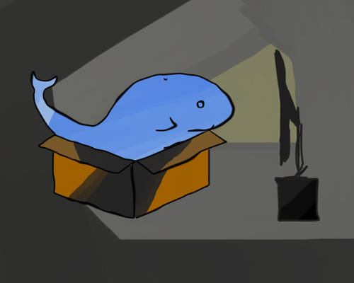 Whales watching tv are... Fantasy.