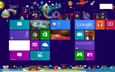 windows 8 start screen - wtf by M-Awesome