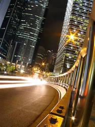 Bustling City by satnitefever